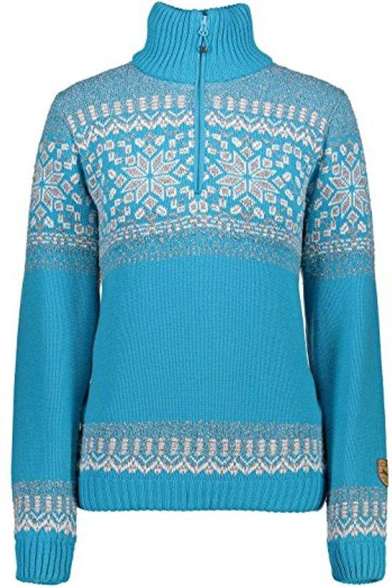 bol | cmp knitted pullover trui - noorse trui - dames - anarak