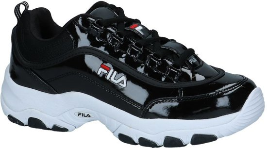 | Fila Strada Zwarte Lage Sneakers