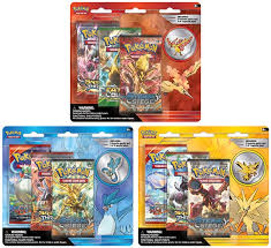 Afbeelding van het spel POKEMON COLLECTORS PIN 3 Boosters in 1 Pack