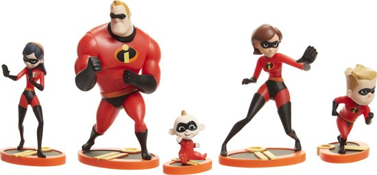 Incredibles 2: 2 figurenset
