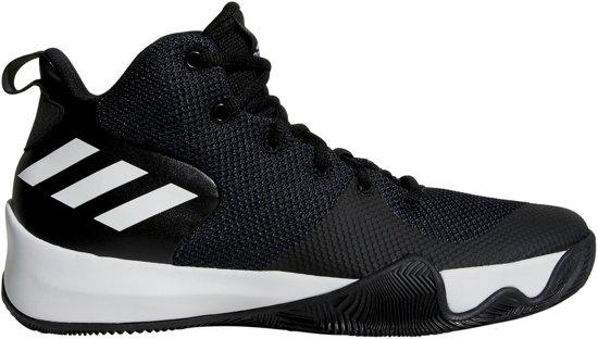 brand new 9d4c6 57a23 adidas Explosive Flash Basketbalschoenen - Maat 43 13 - Mannen - zwartwit