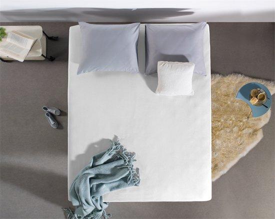Hoogwaardige Jersey Hoeslaken Wit | 190x220 | 135 Gram| Zacht En Comfortabel