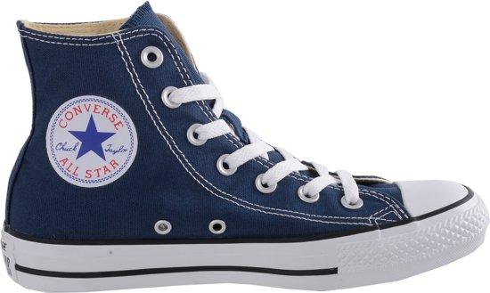 Converse All Star Sneakers Hoog - Navy
