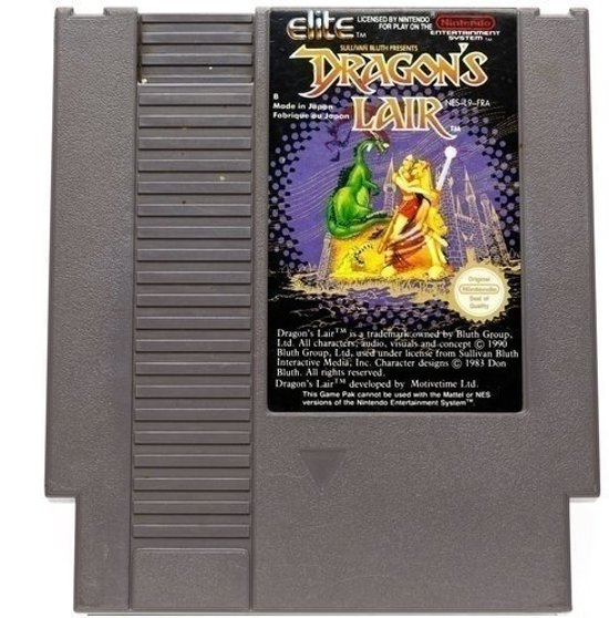 Dragon's Lair - Nintendo [NES] Game [PAL]