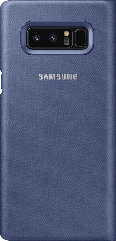 Led Violette Voir Le Couvercle D'original Pour Galaxy Note 8 uMcycm5O