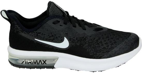 e89fa2d7f2b Nike Air Max Sequent 4 Bg Sneakers Unisex - Black - Maat 36