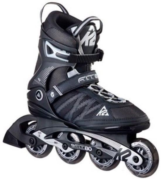 K2 Skates F.I.T. 80 Heren - Zwart