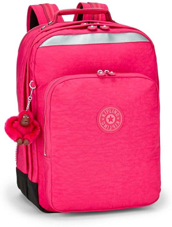 a15d0da6d26 bol.com | Kipling College Up - Laptoprugzak - Cherry Pink Mix