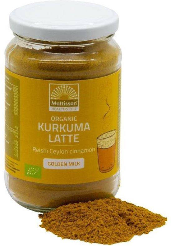 "Mattisson / Kurkuma Latte ""Goldenmilk"" Reishi – Ceylon kaneel BIO - 160 gram"
