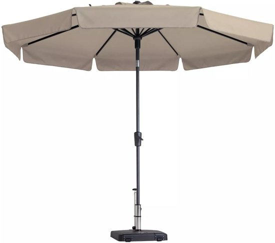 giardino houten parasol 300 cm beige. Black Bedroom Furniture Sets. Home Design Ideas