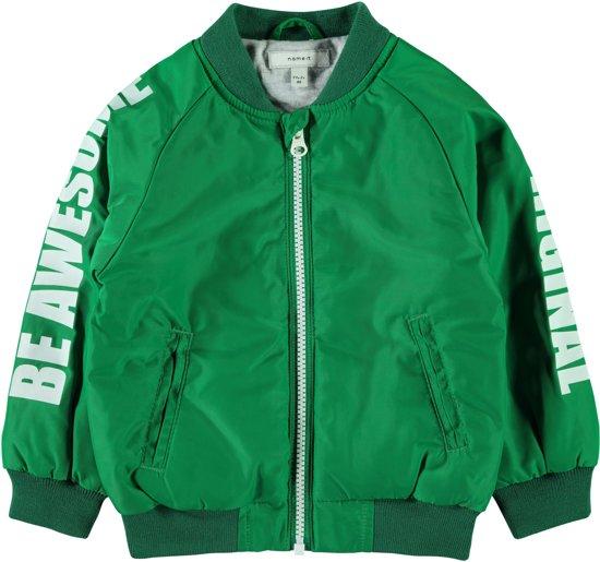 763c294cc5d bol.com   Name it Jongens Zomerjas - Jolly Green - Maat 98