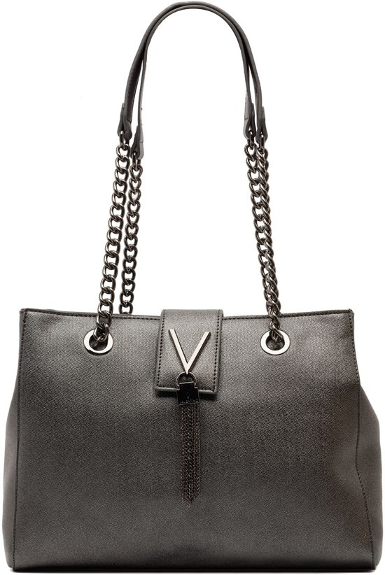 613b1c55e2d bol.com   Valentino Marilyn - Shopper - Zwart Zilver