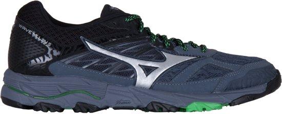 Mizuno Sportschoenen - Maat 44.5 - Mannen - zwart/grijs/groen