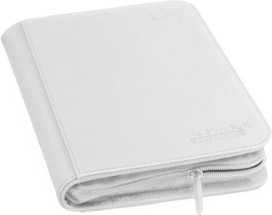 4-Pocket ZipFolio XenoSkin White