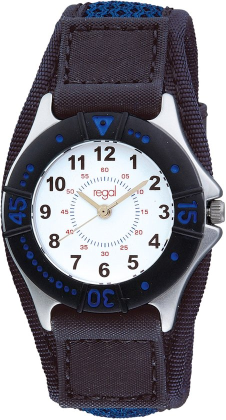 Regal Cool R28860 113 - Horloge - Textiel - 30 mm - Blauw