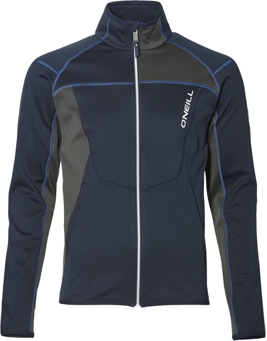 O'Neill Pm Tuned FZ Fleece Wintersportjas - Maat M  - Mannen - donker blauw/ grijs