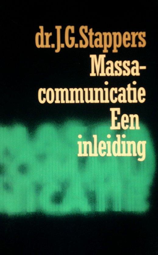 Massacommunicatie - Een inleiding