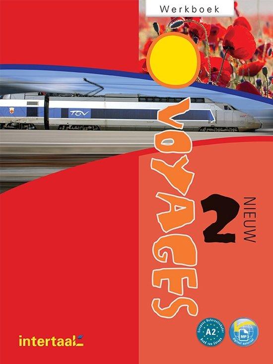 Boek cover Voyages - nieuw 2 werkboek + online MP3s van Guilaine (Paperback)