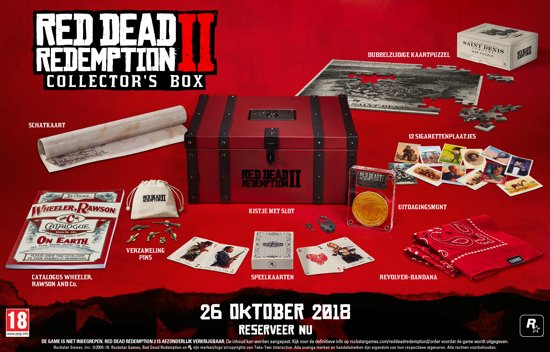 RDR 2 Collectors Box