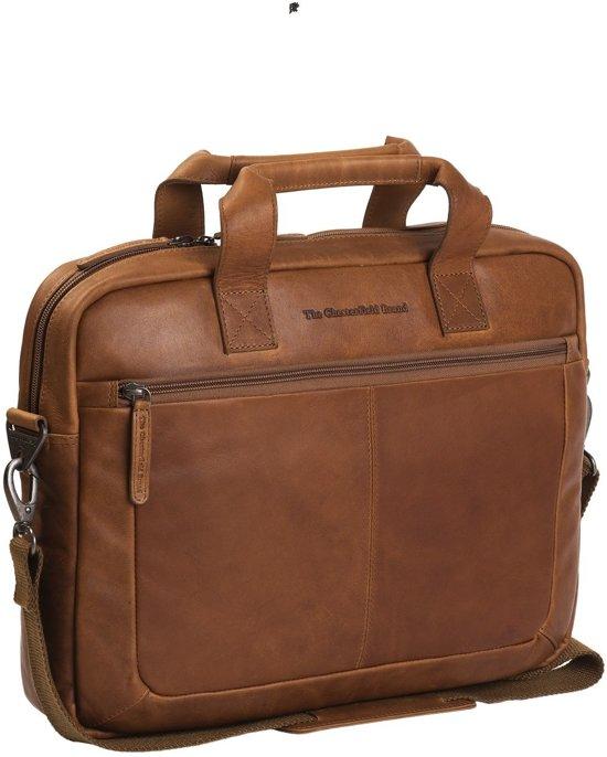 9f8fdb26fe9 bol.com   Chesterfield Laptoptas A4 Calvi 15.6'' Cognac