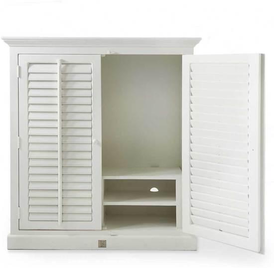 rivira maison new orleans flatscreen dresser tv meubel wit