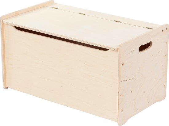 Playwood Speelgoedkist - Opbergkist - Sjouwkist - Hout - 68cm lang