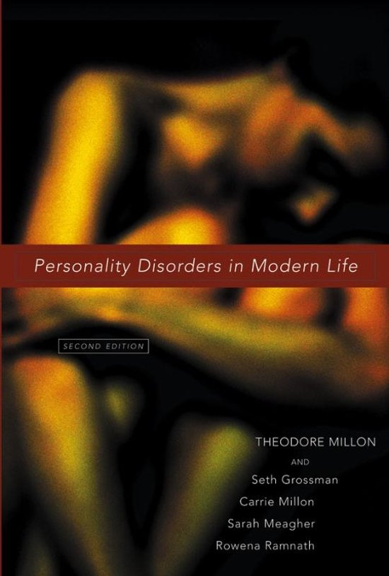 theodore millon personality theory