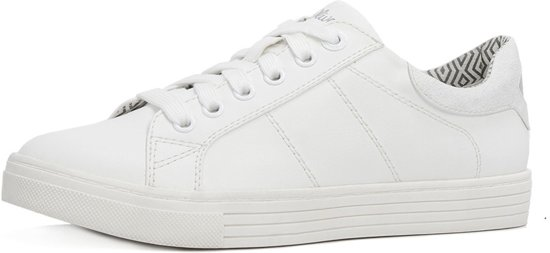 336a0eb0e44 bol.com | s.Oliver witte dames sneakers 5-23613-26 maat 38