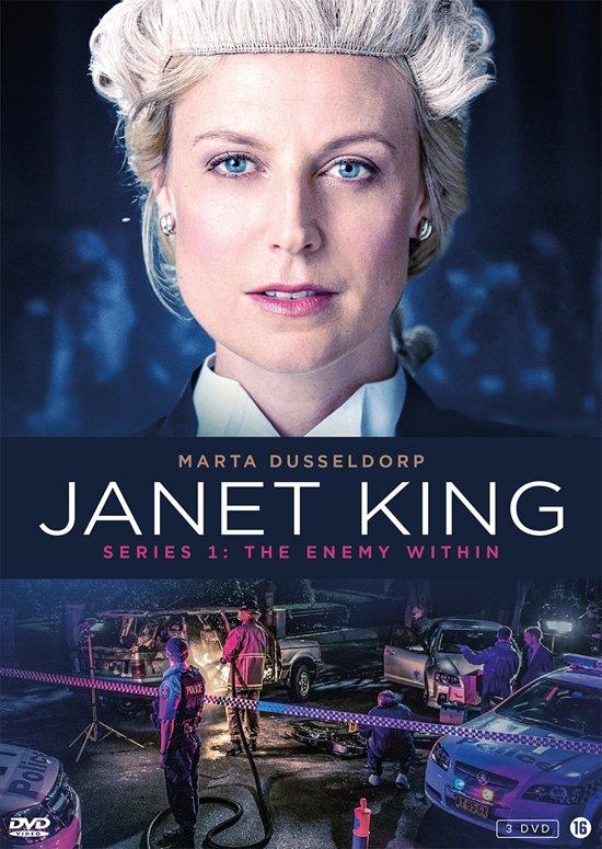 DVD cover van Janet King - Seizoen 1