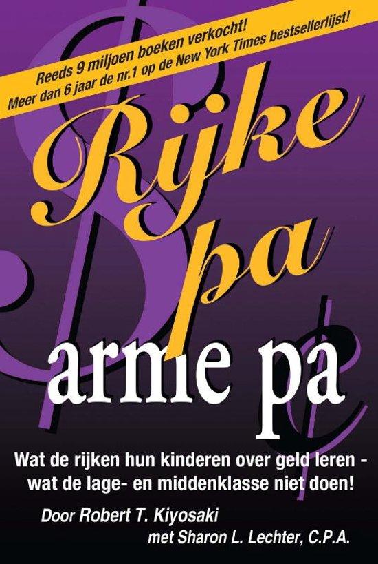 Boek cover Rijke pa arme pa van robert t. kiyosaki (Paperback)