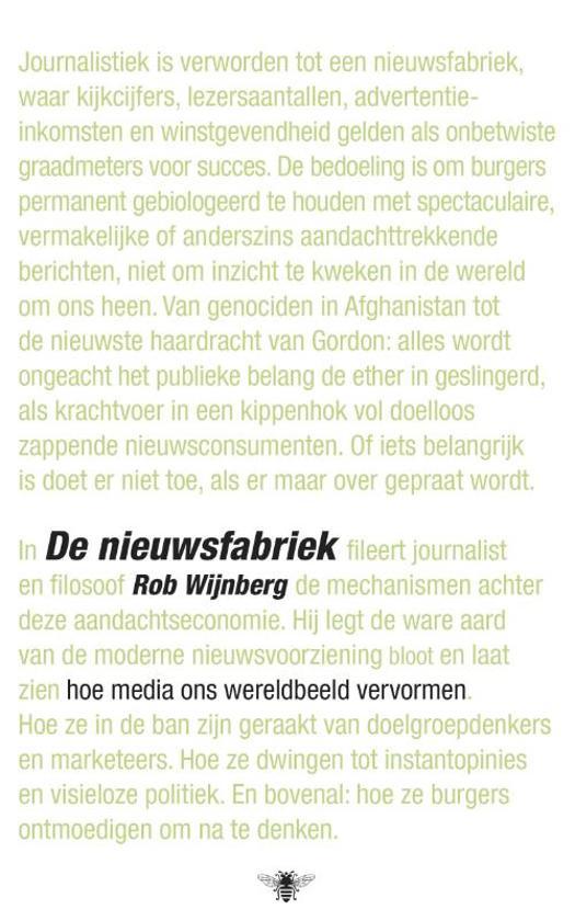 De nieuwsfabriek