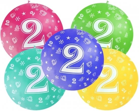 ballon 2 jaar bol.| Mega ballon 2 jaar   Fluoriserend roze   verjaardag  ballon 2 jaar