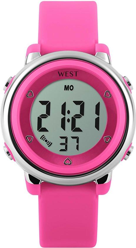horloge kind 8 jaar bol.| West Watch   digitaal kinder horloge   meisjes   LED  horloge kind 8 jaar