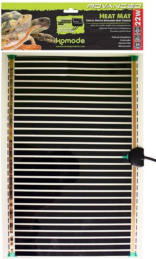 Komodo Geavanceerde Warmtemat - 7 Watt - 142x274 mm
