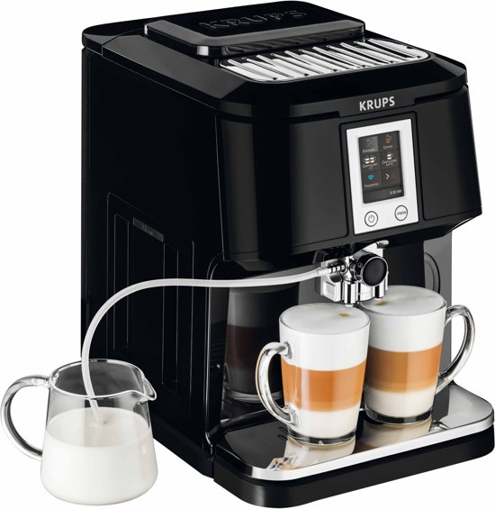 krups ea8808 two in one touch cappuccino volautomaat espressomachine. Black Bedroom Furniture Sets. Home Design Ideas