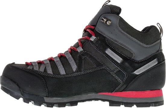 Mannen Heren Maat Weathertite Zwart Mid Spike grijs Wandelschoenen Outdoorschoenen 46 rood Karrimor 8qSZBf
