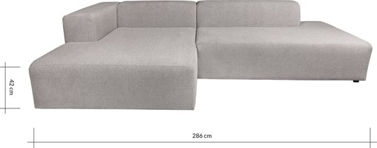 4x6 SOFA hoekbank X6 links