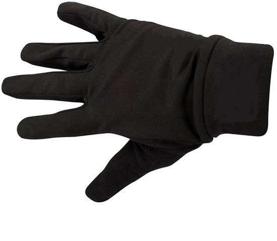 Sporthandschoenen Touchscreen - Handschoenen Sport - Voetbal Hockey Hardlopen Fietsen - Reflectie - Anti-Slip Grip - Unisex - Zwart - L / XL