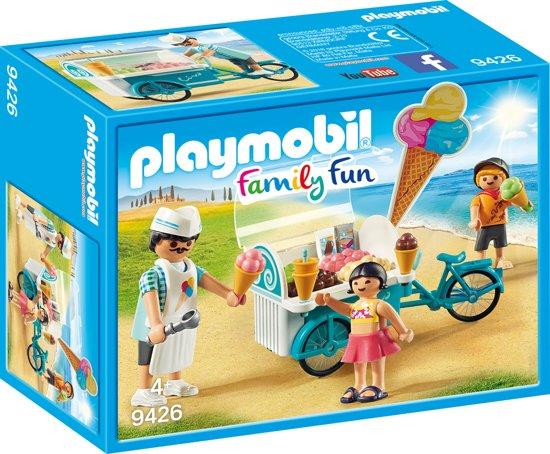 Afbeelding van PLAYMOBIL  Ijsjesverkoper  - 9426 speelgoed