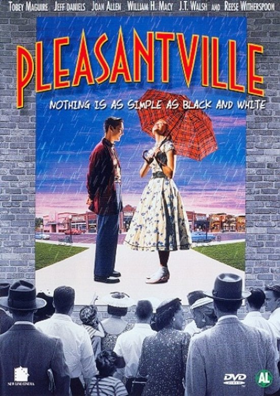 DVD cover van Pleasantville
