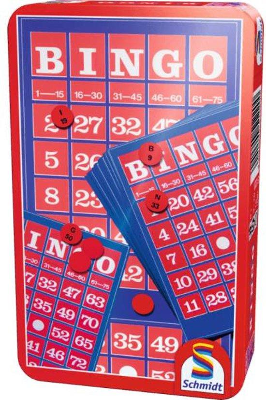 Afbeelding van het spel Bingo - Tin Box Pocketeditie
