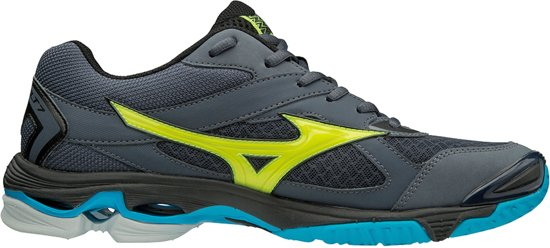 Mizuno Wave Bolt 7 geel indoor schoenen heren
