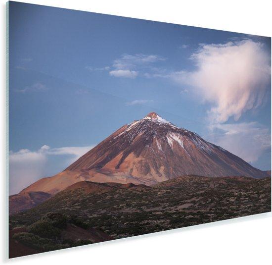Teide vulkaan in het ochtendlicht in het Nationaal park Teide in Spanje Plexiglas 60x40 cm - Foto print op Glas (Plexiglas wanddecoratie)