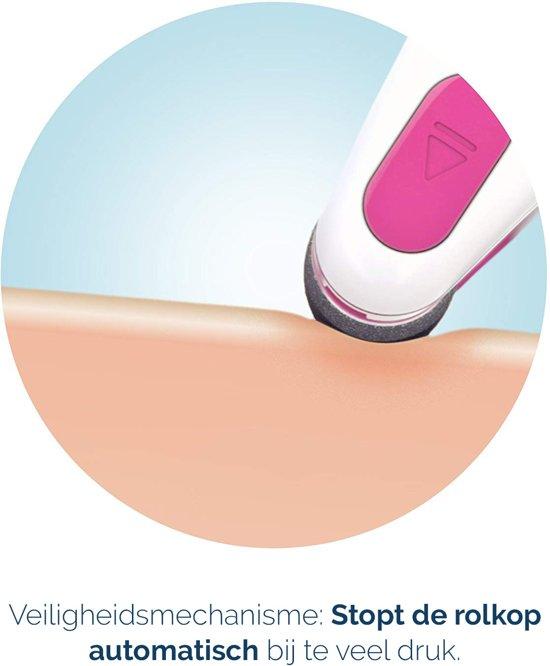 Scholl Velvet Smooth Elektronische Voetvijl - Roze - harde huid - Eeltverwijderaar