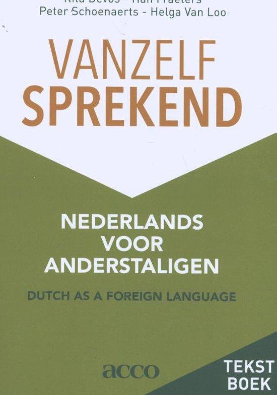 Boek cover Vanzelfsprekend. Nederlands voor anderstaligen van R. Devos (Paperback)