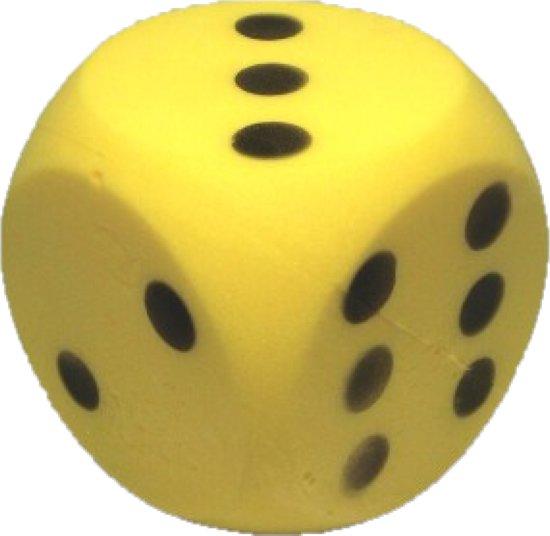 Afbeelding van het spel Dobbelsteen Soft Geel