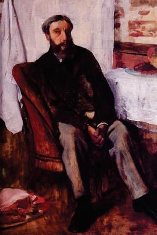 ''portrait of a Man'' by Edgar Degas