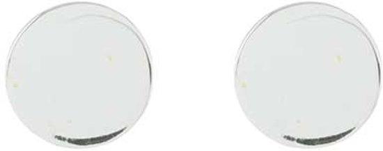 Cirkel oorknopjes - 925 zilver