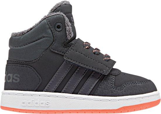 best service 4738b 7852e adidas Hoops Mid High 2.0 l Sneakers Jongens - Carbon S18