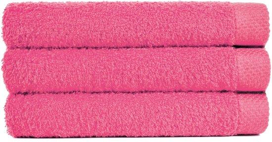 Handdoek 50x100 cm Uni Pure Royal Lavendel - 4 stuks